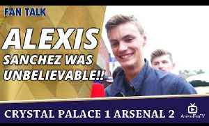 Alexis Sanchez Was Unbelievable!!  | Crystal Palace 1 Arsenal 2 [Video]