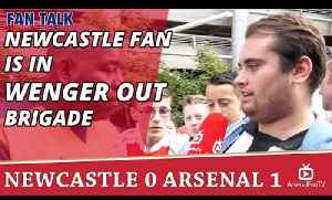 Newcastle Fan Is In Wenger Out Brigade | Newcastle 0 Arsenal 1 [Video]