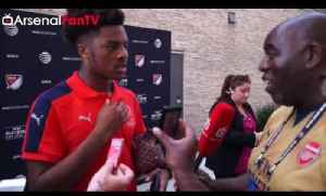 Arsenal 2 MLS All Stars 1 | We Really Wanted To Win says Chuba Akpom [Video]