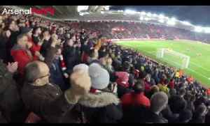 7000 Arsenal Fans Takeover Southampton's St Mary's Stadium in The FA Cup [Video]