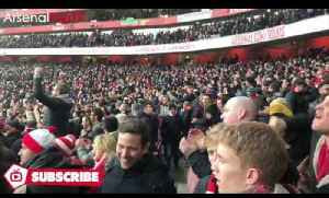 Arsenal 2 Burnley 1 | Tension Before Fans Lose It As Alexis Scores A 97th Minute Penalty Winner!! [Video]
