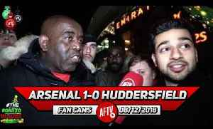 Arsenal 1-0 Huddersfield | We Need To Sign A Centre Back & Winger In January! (Afzal) [Video]