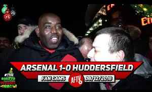 Arsenal 1-0 Huddersfield | How Many Times Does Aubameyang Get Caught Offside! (Daniel) [Video]