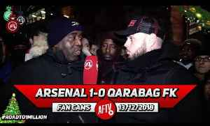 Arsenal 1-0 Qarabag FK | We Have To Play Our Strongest Side Against Tottenham! (DT) [Video]