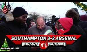 Southampton 3-2 Arsenal | Why Was Lacazette On The Bench Today!! (Claude & Ty) [Video]