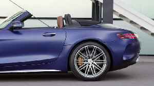 The new Mercedes-Benz AMG GT C Roadster Exterior Design [Video]