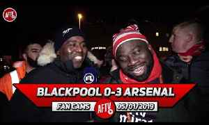Blackpool 0-3 Arsenal | I Will Miss Aaron Ramsey I Want Him To Stay ! (Kelechi) [Video]