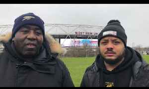 West Ham vs Arsenal LIVE Team Line Up ft Troopz [Video]