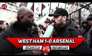 West Ham 1-0 Arsenal | We'd Be An Embarrassment To England In The Champions League! (Turkish) [Video]
