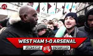 West Ham 1-0 Arsenal | The Players Gave Up!! (Australian Fan) [Video]