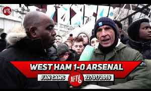 West Ham 1-0 Arsenal | Iwobi Worked 10x Harder Than Lacazette & Aubameyang! (Lee Judges Rant) [Video]
