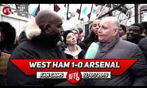 West Ham 1-0 Arsenal | Wenger & Gazidis Should Be On Crimewatch For This Mess! (Claude) [Video]