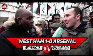 West Ham 1-0 Arsenal | This Squad Will Not Make The Top 4 Without Signings! [Video]