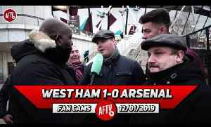 West Ham 1-0 Arsenal | Nasri Ran The Show! We Played You Off The Park! (Dom - West Ham Fan) [Video]