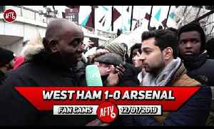 West Ham 1-0 Arsenal | Emery Doesn't Rate Ozil So We Need To Sell Him In The Summer! (Afzal) [Video]