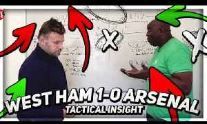 How Unai Emery Got It Wrong Against West Ham! | AFTV Tactical Insight ft Graham Brooks [Video]