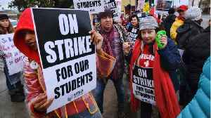 Negotiations Resume As Los Angeles Teachers' Strike Enters Fourth Day [Video]