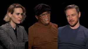 'Glass' Cast Does the '10-Year Challenge' (Exclusive) [Video]