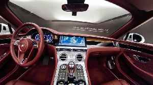 Bentley Continental GT Convertible - 360 Interior Graphical Overlay [Video]