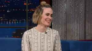 Sarah Paulson Hasn't Seen 'Bird Box' Yet [Video]