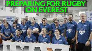 Training to play rugby on Everest! [Video]