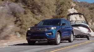 All-New Ford Explorer Hybrid Preview [Video]