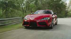 2020 Toyota Supra Driving Video [Video]