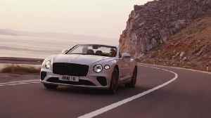 The new Bentley Continental GT Convertible Driving Video [Video]