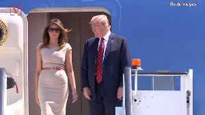 Melania Trump Takes Military Plane to Mar-a-Lago After Trump Grounds Nancy Pelosi's Troop Visit [Video]