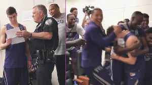 Cops Surprise College Students With Scholarships [Video]
