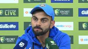 Ind vs Aus ODI win: 'Give MS Dhoni some space': Virat Kohli tells sceptics [Video]