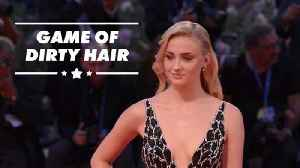 Game of Thrones banned Sophie Turner from washing her hair [Video]