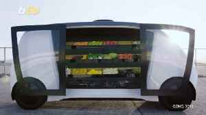This Self-Driving Supermarket On Wheels Brings the Grocery Store to Your Door [Video]