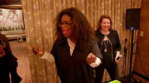 Oprah Surprises Diners Who Didn't Know They Were Eating From Her Garden [Video]