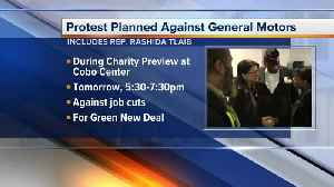 Rep. Rashida Tlaib to join protest during Detroit auto show Charity Preview [Video]