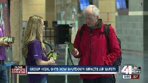 KCI air traffic controllers affected by shutdown [Video]