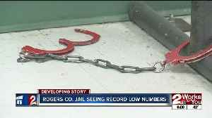 Rogers Co. jail seeing record low numbers [Video]