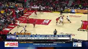 Cowan, Terps ready to take hot streak on the road [Video]