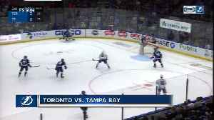 Toronto Maple Leafs beat NHL-leading Tampa Bay Lightning 4-2 [Video]