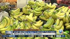 Food stamp recipients told to ration food for February [Video]