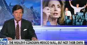 Tucker Carlson to Nancy Pelosi: Tear down the walls around your mansions [Video]