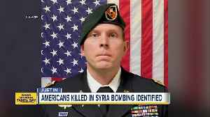 Florida solider killed in Syria bombing [Video]
