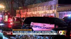 Families need help after motel fire [Video]