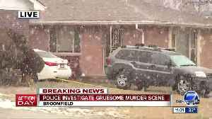Broomfield police investigating person found dead inside home; suspect in custody [Video]
