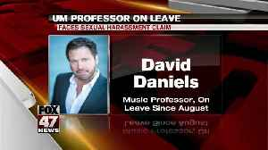 UM professor on leave [Video]