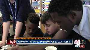 KCK students' science experiment headed to space [Video]