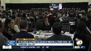 Hundreds honor the life and legacy of Dr. Martin Luther King Jr. [Video]