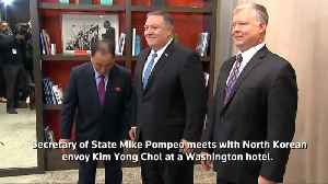 Pompeo meets with top NK nuclear envoy [Video]