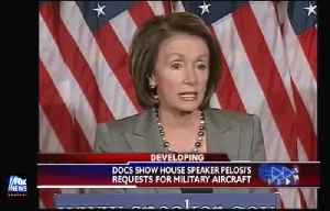 Pelosi Uses Jets At Taxpayer Expense [Video]