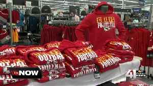 Stores ready to sell AFC Champs gear if Chiefs win [Video]